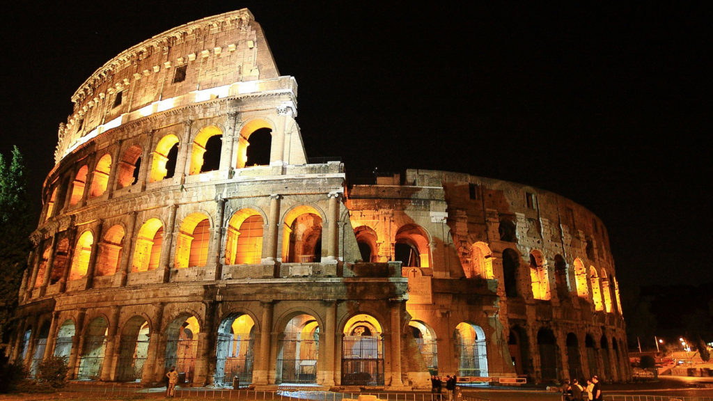 THE COLOSSEUM new 7 wonders of world