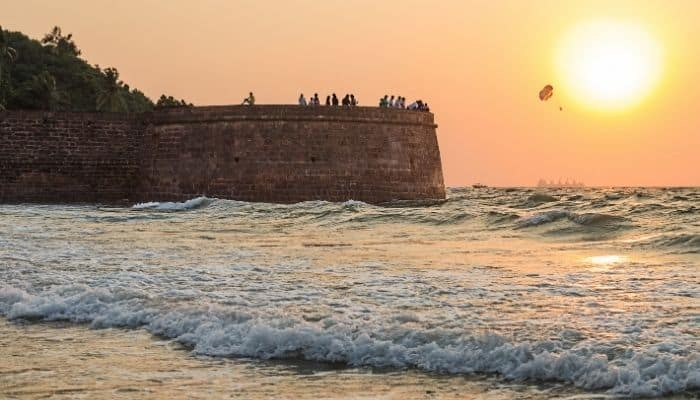 Aguada Fort Places to Visit in Goa