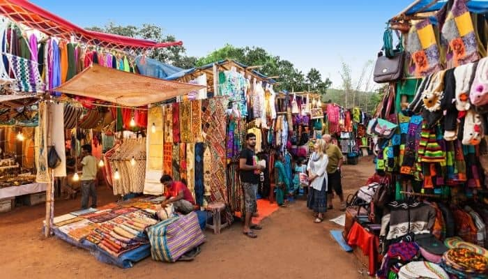 Best Markets in Goa - Places for shopping in Goa