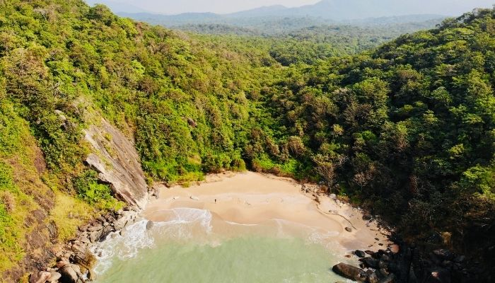 Butterfly beach goa places to visit