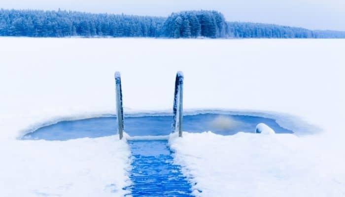 Ice Swimming Finland Travelogue TourismBharat