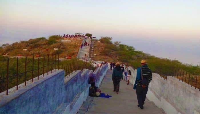 Sunset and Kalo Dungar Rann of Kutch Gujarat Travelogue